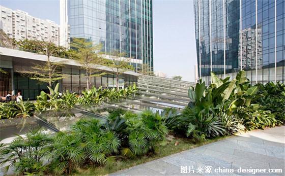"""广州商业中心""""一抹绿"""" 多层密集型绿化屋顶和广场(组图)"""