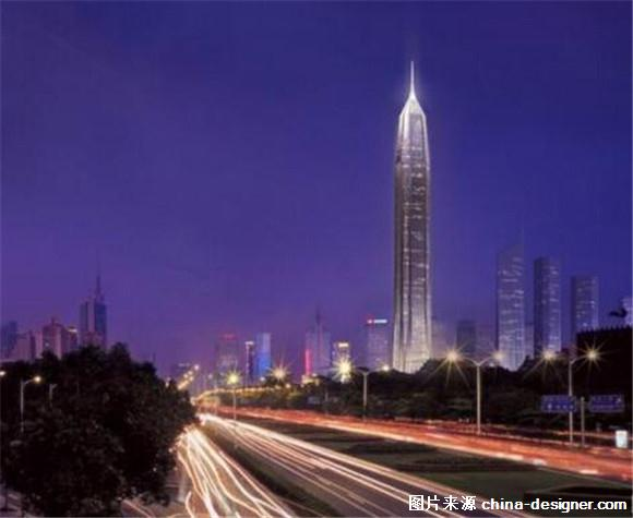 图:深圳平安金融中心  图:深圳平安金融中心 2011年4月23日封顶的京基100大厦楼高441.8米,共100层,一度是深圳第一高楼、中国内地第五高楼、全球第十三高楼。今年7月16日,平安金融中心项目施工至96层,主体高度达到448.3米,超过京基100成为深圳第一高楼。中建一局岩土专家周予启介绍说,平安金融中心有8根直径8米的超巨型桩支撑,最深离地面有近70米,直接连到了岩石层,大楼与地壳连成了一体,稳固得很。巨柱从地下室一直贯通至地上550米标高,整体高度达580米,犹如8根擎天巨柱支撑起整栋大楼