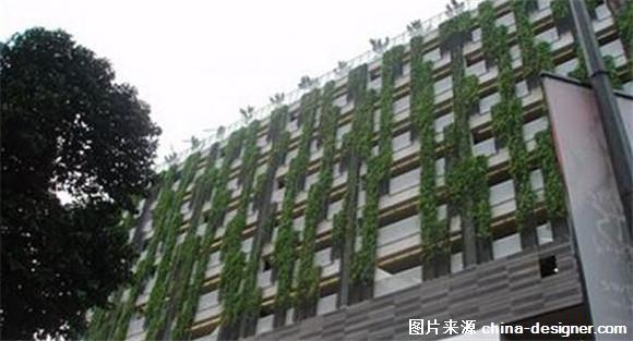 建筑立面 植物 素材