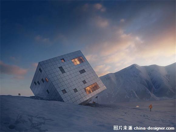 超现实主义立方体住宅设计(组图)