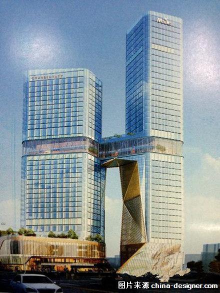 西安将建成最高钢结构超五星酒店