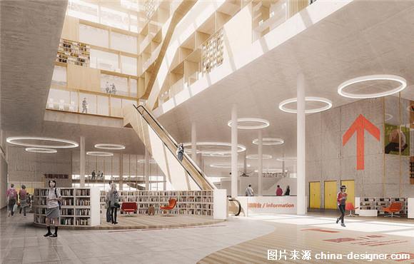 宁波有天一阁,现在又建起了一个开放式图书馆(组图)图片