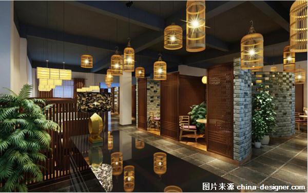 海南省海南大学新图书馆中庭设计 海南省福山镇中式精品酒店 海南省海图片