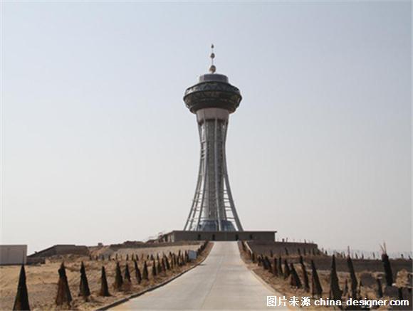 全国最高的沙漠旅游观光塔建成
