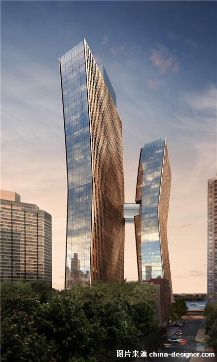 纽约这个建在天桥上的游泳池,风景绝佳(组图)