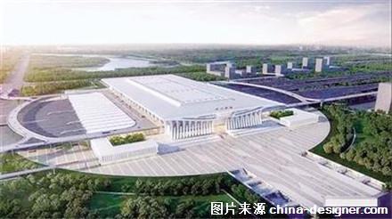 鹤舞九州 郑州南站建筑概念设计方案获批(组图) -设计