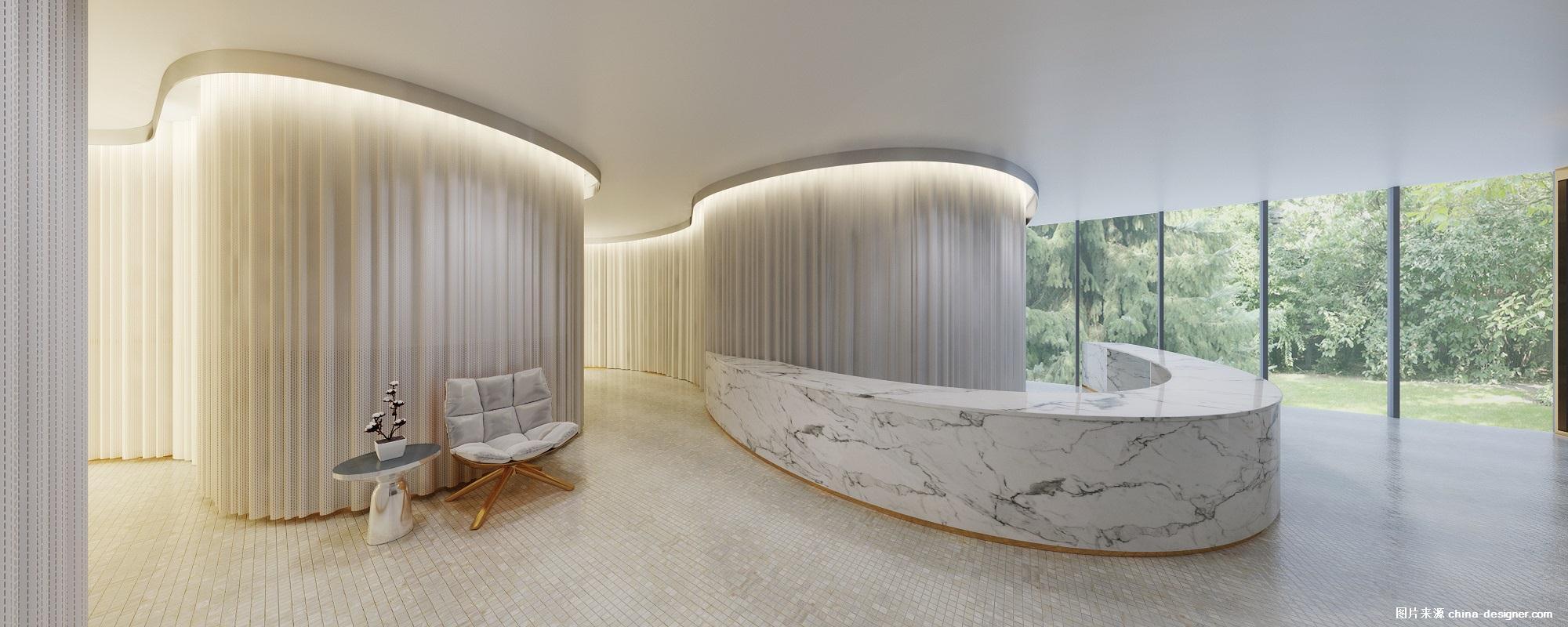 装修资讯v资讯图片-中国建筑与室内设计师设计公司展示厅图片