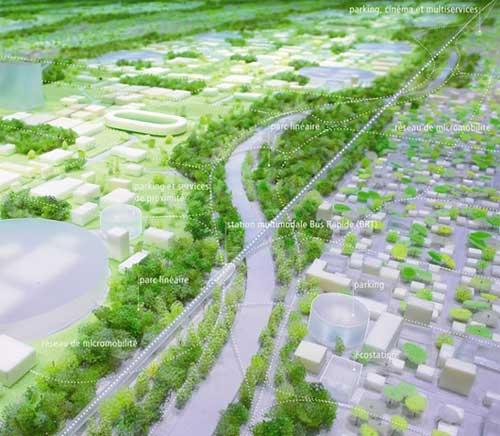 大巴黎 十大城市规划设计图