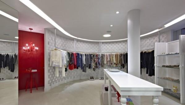 巴西 Hi lo服装店室内设计 组图