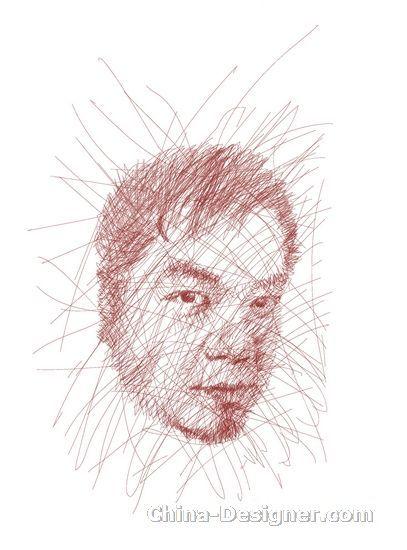 (图:戴昆先生手绘个人速写)高清图片