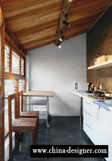 农家院装修照片-现代生活享受+ 原生态感受   室内设计同样由娜尔苏亲自操刀,棉、麻