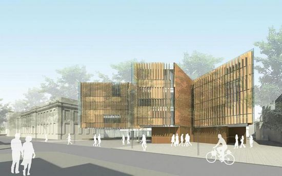 FJMT赢得牛津大学实验室项目 组图 设计资讯 中国建筑装饰协会设计委图片