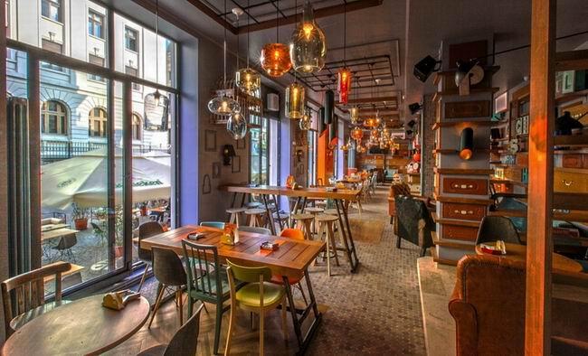 设计师分享休闲餐厅设计作品